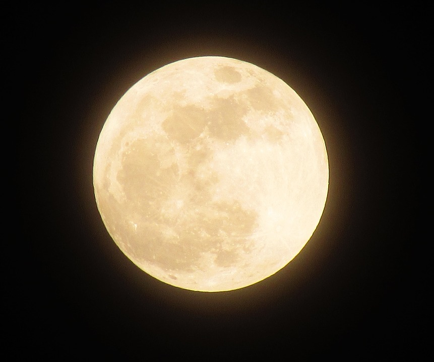 Полнолуние и «Голубая Луна» в марте 2018 года