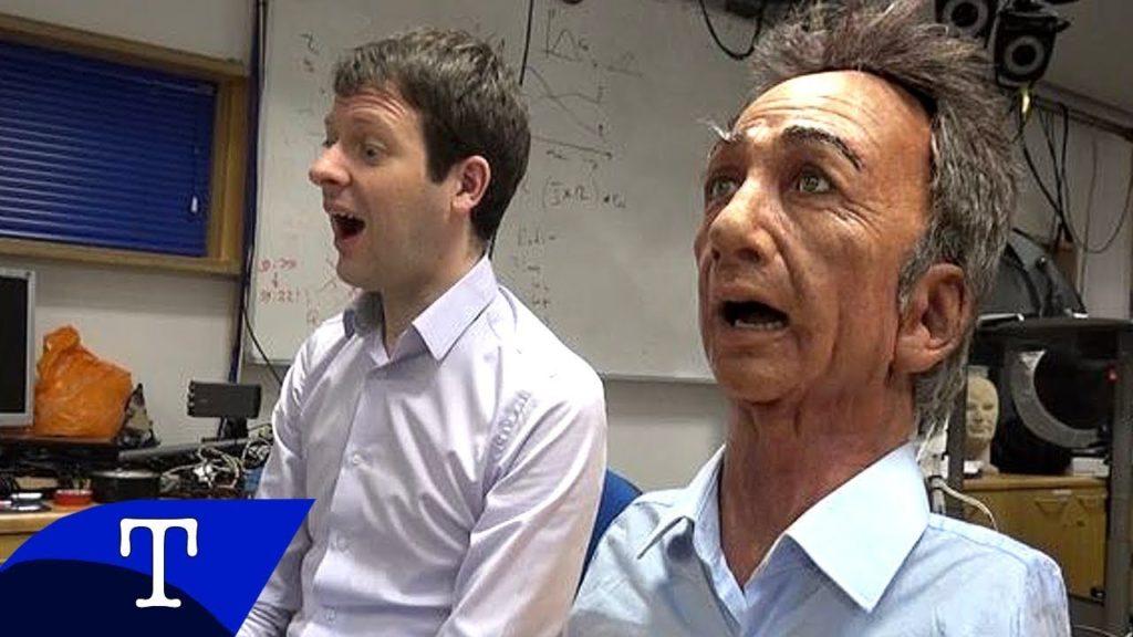 Ученые из Кембриджского университета создают робота, имитирующего эмоции человека