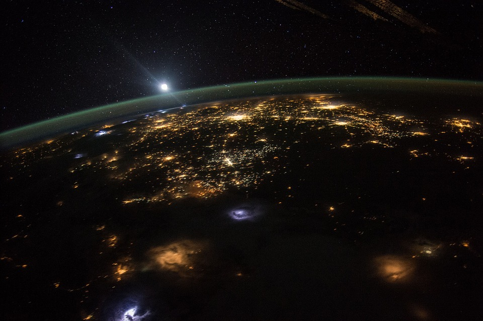 Над территорией России начался период вечерней видимости Международной Космической Станции