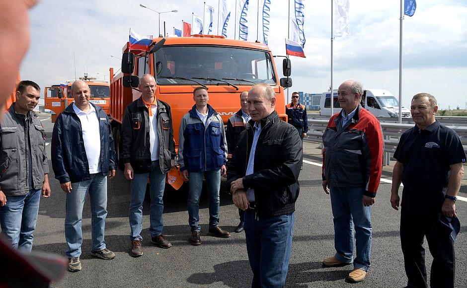 Генподрядчик строительства Крымского моста гарантировал, что он простоит не меньше 100 лет