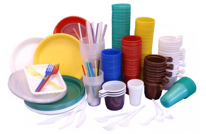 Правительство планирует ввести в 2019 году налог на одноразовую посуду