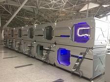 В аэропорту Внуково открылся капсульный отель