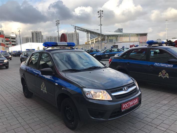 Новая цветовая гамма окраски автомобилей МВД и Росгвардии