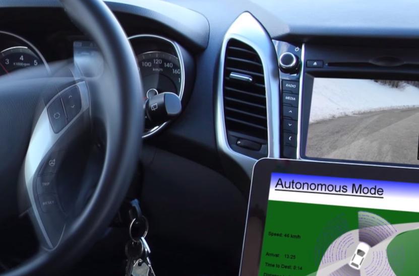 Автомашины с автопилотом могут увеличить пробки