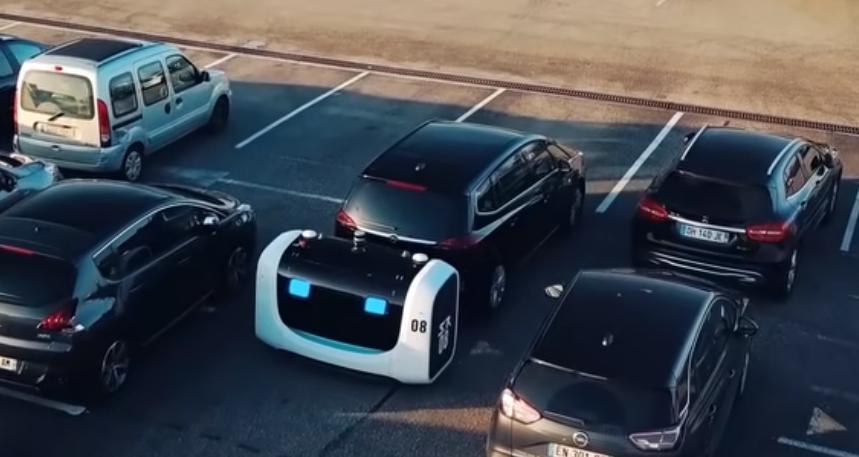В аэропорту Лиона впервые начала работать полностью автоматизированная парковка