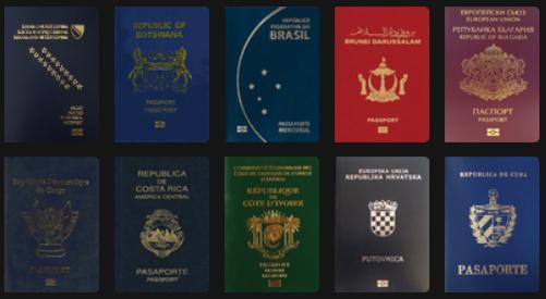 База данных по паспортам и визовым режимам
