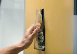 Установка, превращающая пустые бутылки в песок