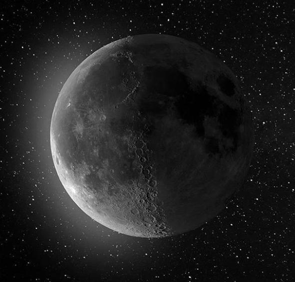 Самое кристально чистое изображение Луны