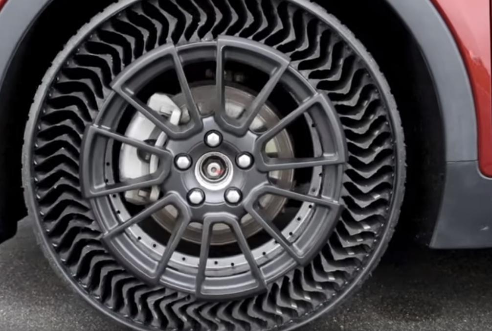 Непрокалываемые шины без воздуха