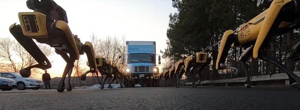 Эволюция роботов Boston Dynamics - BigDog, Rhex, Spot Mini, Handle, Atlas