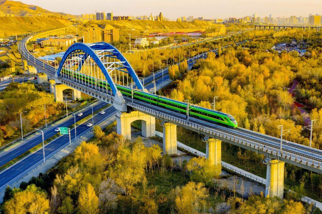 Развитие транспортной сети Китая