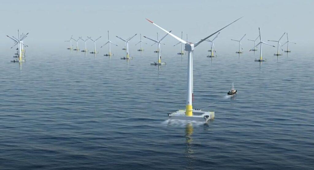 Получение электрической энергии с помощью ветровых турбин