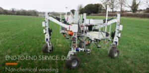 Вместо пестицидов: убийца сорняков «Дик» работает с помощью электрического тока в 8000 вольт