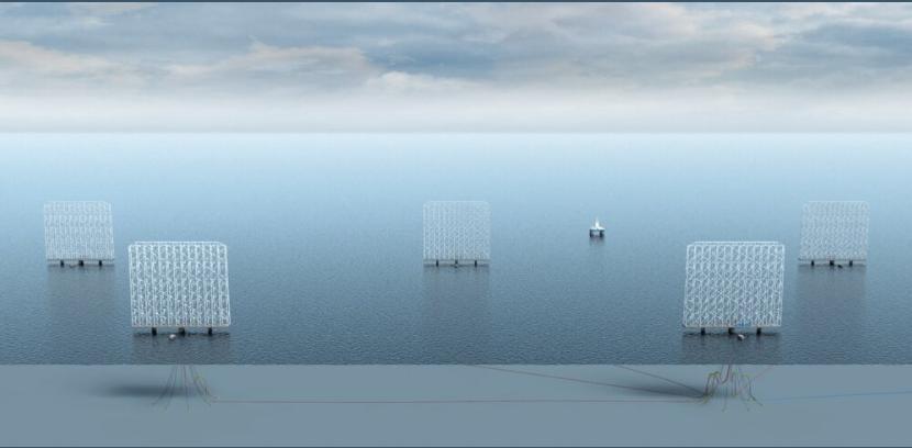 Норвежцы строят плавучую ветровую электростанцию выше Эйфелевой башни