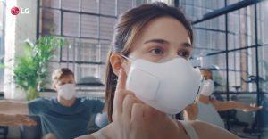 Компания LG разработала новую версию очистителя воздуха в виде маски LG  PuriCare