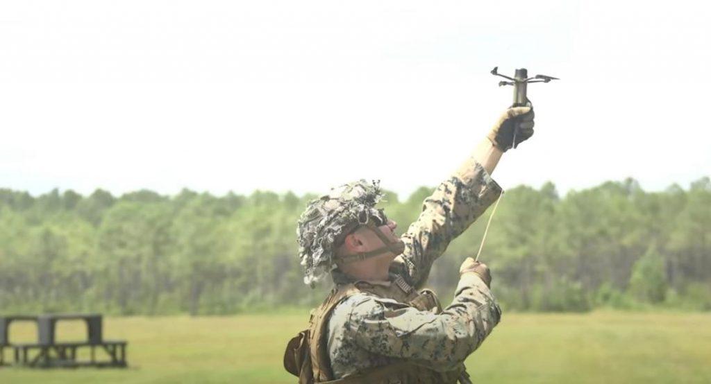 Армия США тестирует дроны, работающие как гранаты