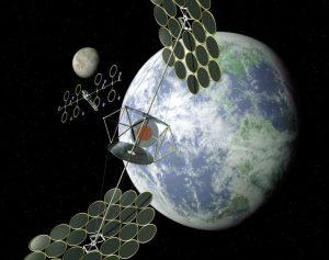 Миллиардер профинансировал инновационную концепцию космической электростанции